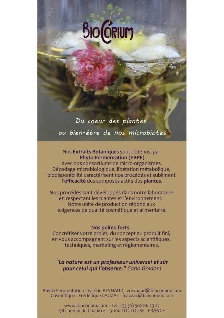 BioCorium : du coeur des plantes au bien-être de nos microbiotes