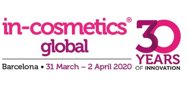 Salon In-Cosmetics Global Barcelone 2020