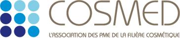 Logo Cosmed : association des PME de la filière cosmétique